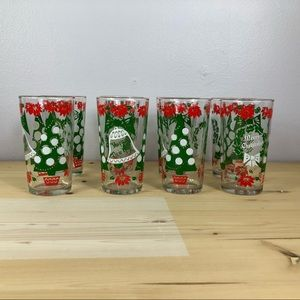 Other - Vtg Christmas Holiday Glasses Tree Decor New Year